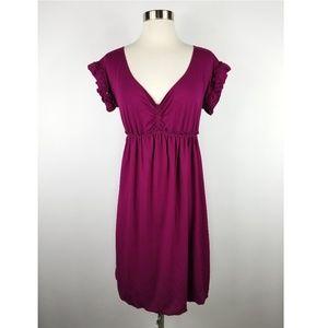 Max Studio Empire Waist Short Sleeve Dress
